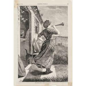 Homer, Winslow (1836-1910) Fifteen Wood Engravings from Harper