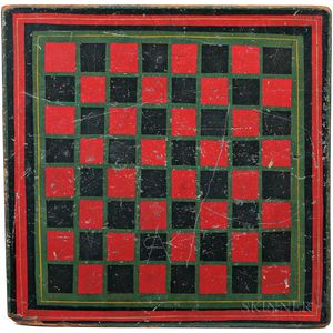 Double-sided Painted Game Board