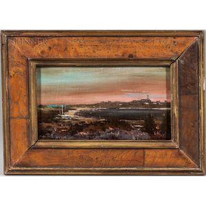 Peter Layne Arguimbau (American, b. 1951)      Nantucket Landscape