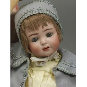 Fransz Schmidt Bisque Head Character Toddler Doll