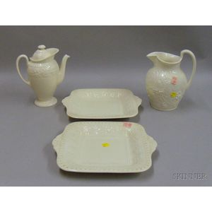 Four Wedgwood Queensware Items