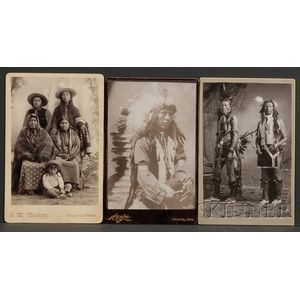 Three Cabinet Cards
