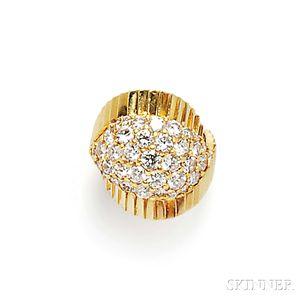 18kt Gold and Diamond Ring, Jose Hess