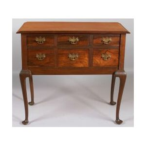 Queen Anne Style Rosewood Lowboy
