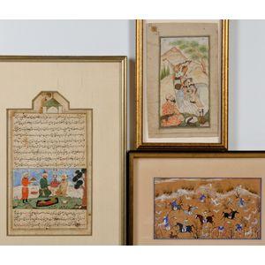Three Miniature Paintings