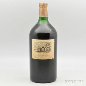Chateau Cantemerle 1982, 1 double magnum