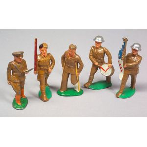 Five Dime Store Soldiers