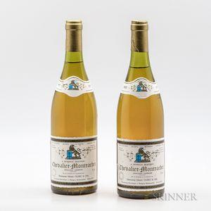 Henri Clerc & Fils Chevalier Montrachet 1985, 2 bottles