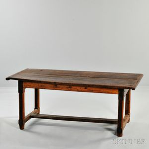 Mission-style English Oak Table