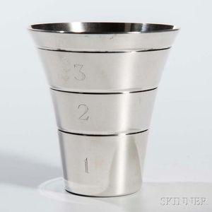Silver Drink Measure