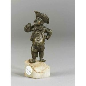 Small Bronze Figure of a Man