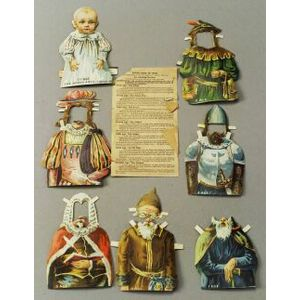 Seven Ages of Man Paper Doll