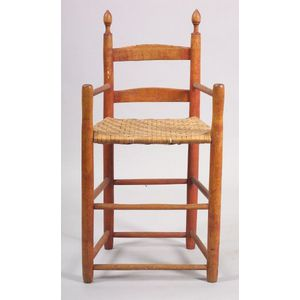 Red Stained Maple and Ash Weaver