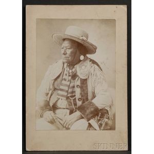Photograph of Chief Moses