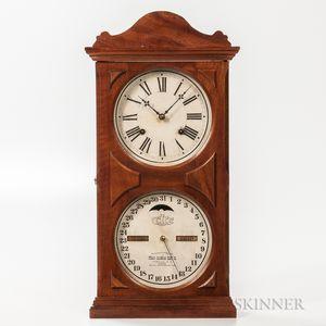 Ithaca Calendar Shelf Clock