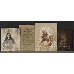 Three American Indian Portrait Photographs