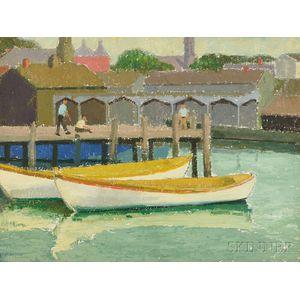 Emma Fordyce MacRae (American, 1887-1974)      White Boats