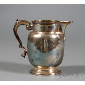George II Silver Milk Jug
