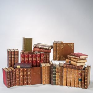 Decorative Bindings, Sets and Single Volumes, Approximately Forty-three Volumes.