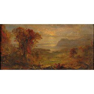 Jasper Francis Cropsey (American, 1823-1900)      Autumn on the Hudson