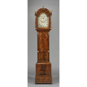 Mahogany Tall Clock by Thompson