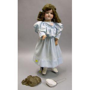 Armand Marseille Bisque 390 Child Doll
