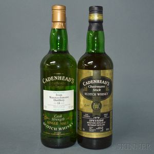 Mixed Speyside, 2 750ml bottles