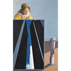 Terri Priest (American, 1928-2014)      Vermeer, O