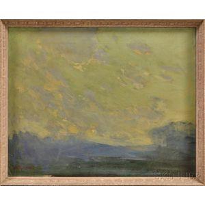 Arthur Clifton Goodwin (American, 1864-1929)      Clouds