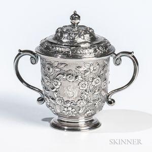 George I Britannia Standard Silver Cup and Cover
