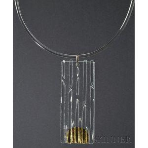 Solar-Lunar Necklace #5, Margret Craver