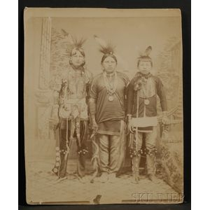 Large Photograph of Indian Dancers