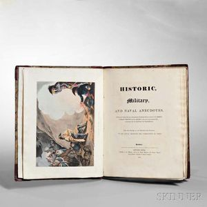 Orme, Edward (1775-1848) Historic, Military and Naval Anecdotes of Personal Valour.