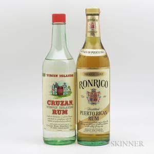 Mixed Rum, 1 4/5 quart bottle 1 750ml bottle