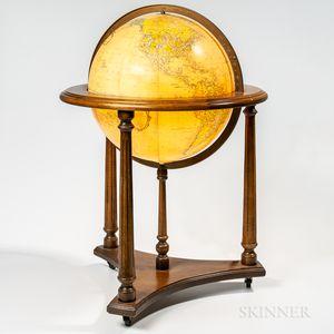 "Lighted 16-inch ""Heirloom Globe,"""
