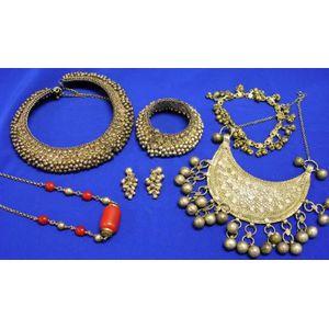 Group of Yemenite and International Silver Jewelry