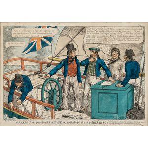 Satirical Prints, Two British Examples.