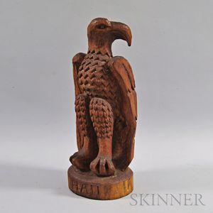 Carved Wood Eagle