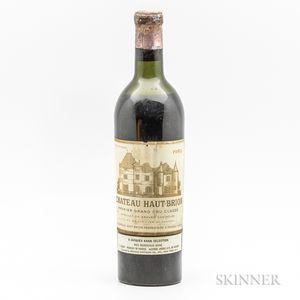 Chateau Haut Brion 1952, 1 bottle