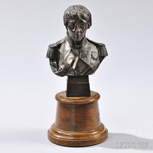 Cast Copper Bust of Admiral Lord Nelson