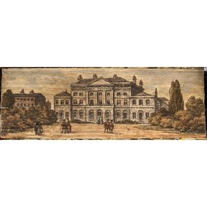 Fore-edge Painting of Lansdowne House.