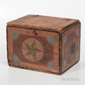 Star Paint-decorated Box