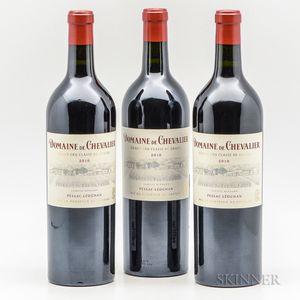 Domaine de Chevalier 2010, 3 bottles