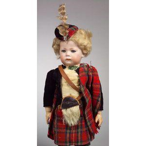Kammer & Reinhardt 115/A Pouty Bisque Head Character Boy