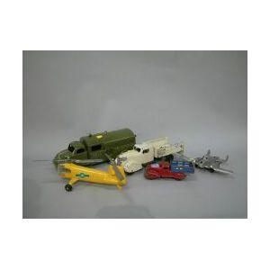 Five Metal Vehicles