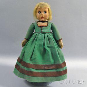 Lenci Allegra-type Felt Character Doll