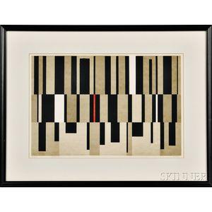 Edward August Landon (American, 1911-1984)      Fugue