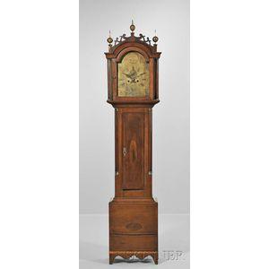 The Captain Elias Pratt II Eight-day Cherry Tall Clock