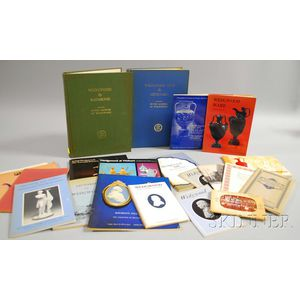 Approximately Eighteen Wedgwood and Wedgwood-related Books, Catalogues, and Pamphlets.