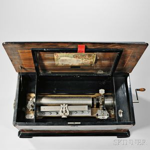 Mermod Freres Twelve-air Cylinder Musical Box